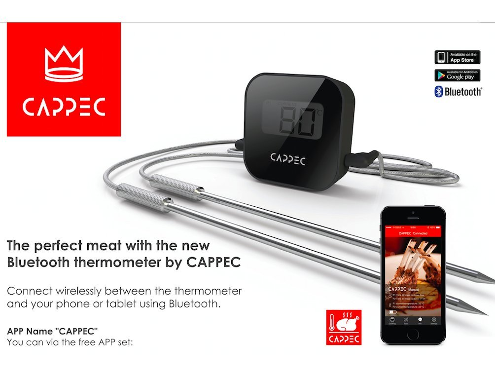 4 Smart Thermometers You Should See - Cooking Gizmos