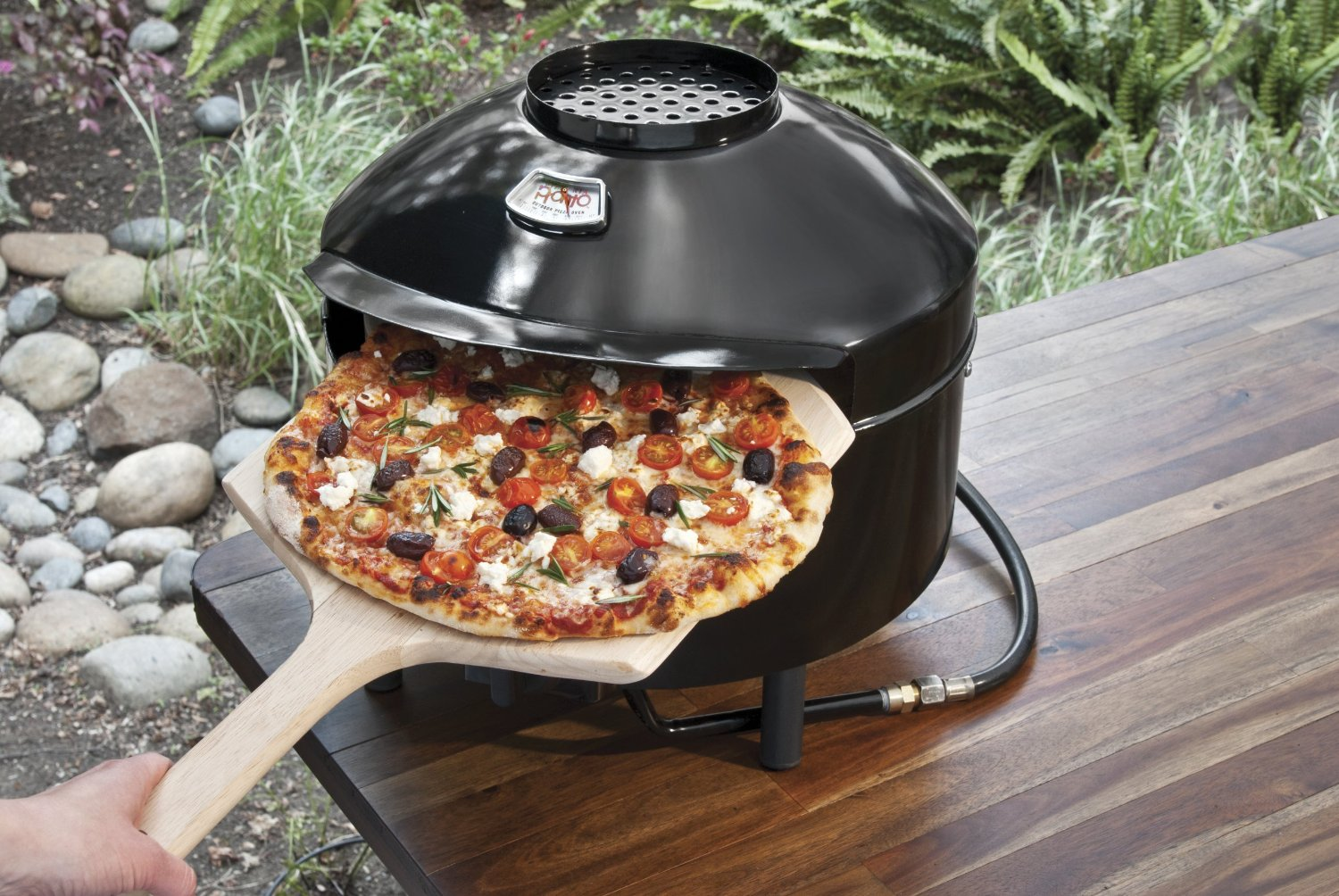 pizzacraft pizzeria pronto outdoor pizza oven cooking gizmos. Black Bedroom Furniture Sets. Home Design Ideas