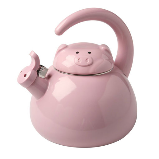 Whistling Pig Tea Kettle Cooking Gizmos