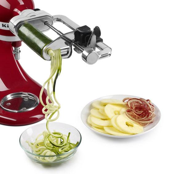 Kitchenaid Spiralizer W Peel Core And Slice Options For