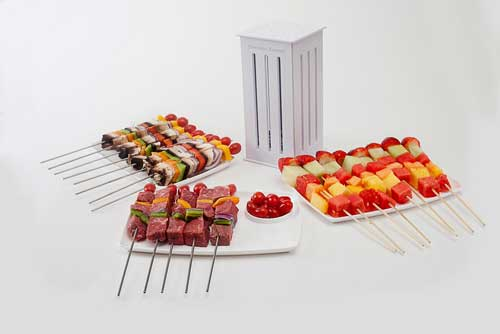 Brochette Express Make 16 Brochettes Cooking Gizmos