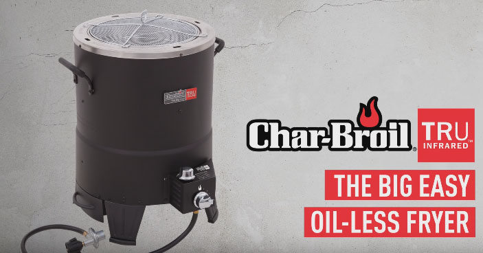 Char Broil The Big Easy Oil Less Turkey Fryer Cooking Gizmos