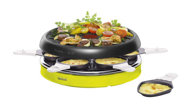 Tefal Colormania Raclette Grill Cooking Gizmos