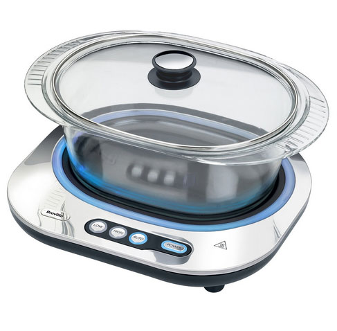 Breville Vtp140 Glass Slow Cooker Cooking Gizmos