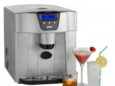 Vonshef Countertop Ice Maker : VonShef Digital Ice Maker: Makes 800g of Ice at a Time