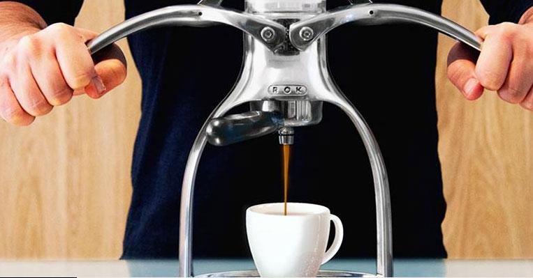 ROK Presso Manual Espresso Maker - Cooking Gizmos