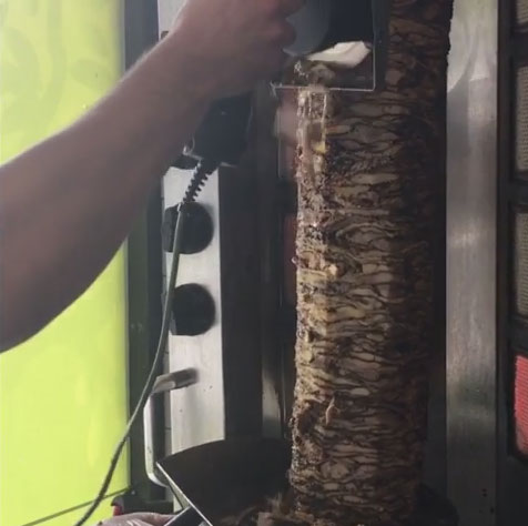 Shawarma Knife For Doner Kebab Souflaki Gyro Cooking