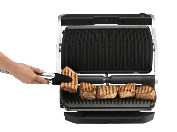 T-fal GC722D53 OptiGrill Large Indoor Electric Grill - Cooking Gizmos