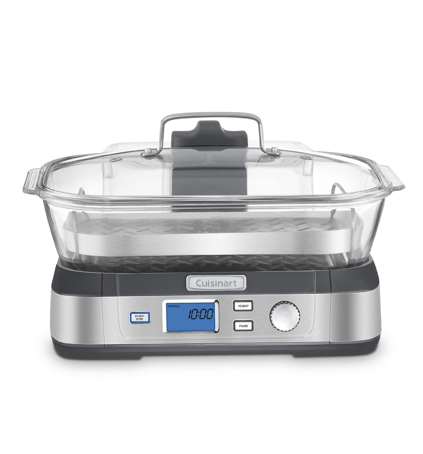 Glass Electric Steamer ~ Cuisinart stm cookfresh glass steamer cooking gizmos