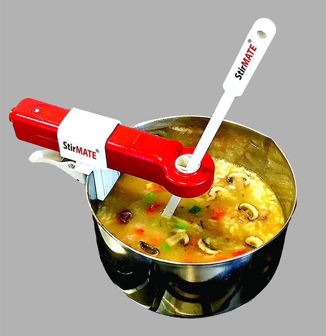 Stirmate Auto Pot Stirrer Cooking Gizmos
