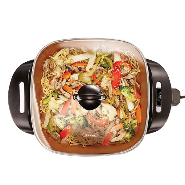 Morphy Richards Stainless Steel Electric Frying Pan