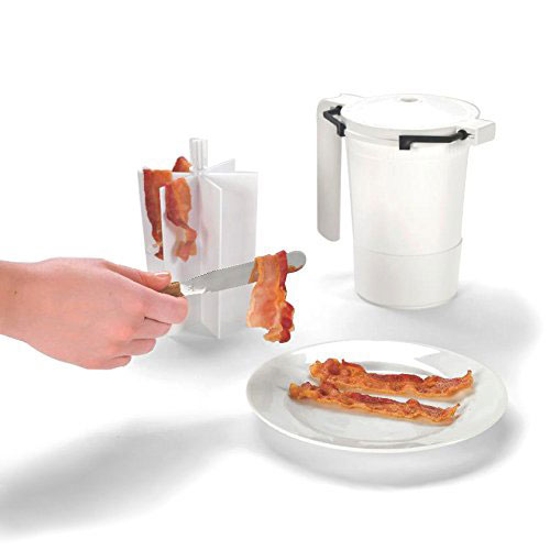 Wowbacon Microwave Bacon Cooker Cooking Gizmos