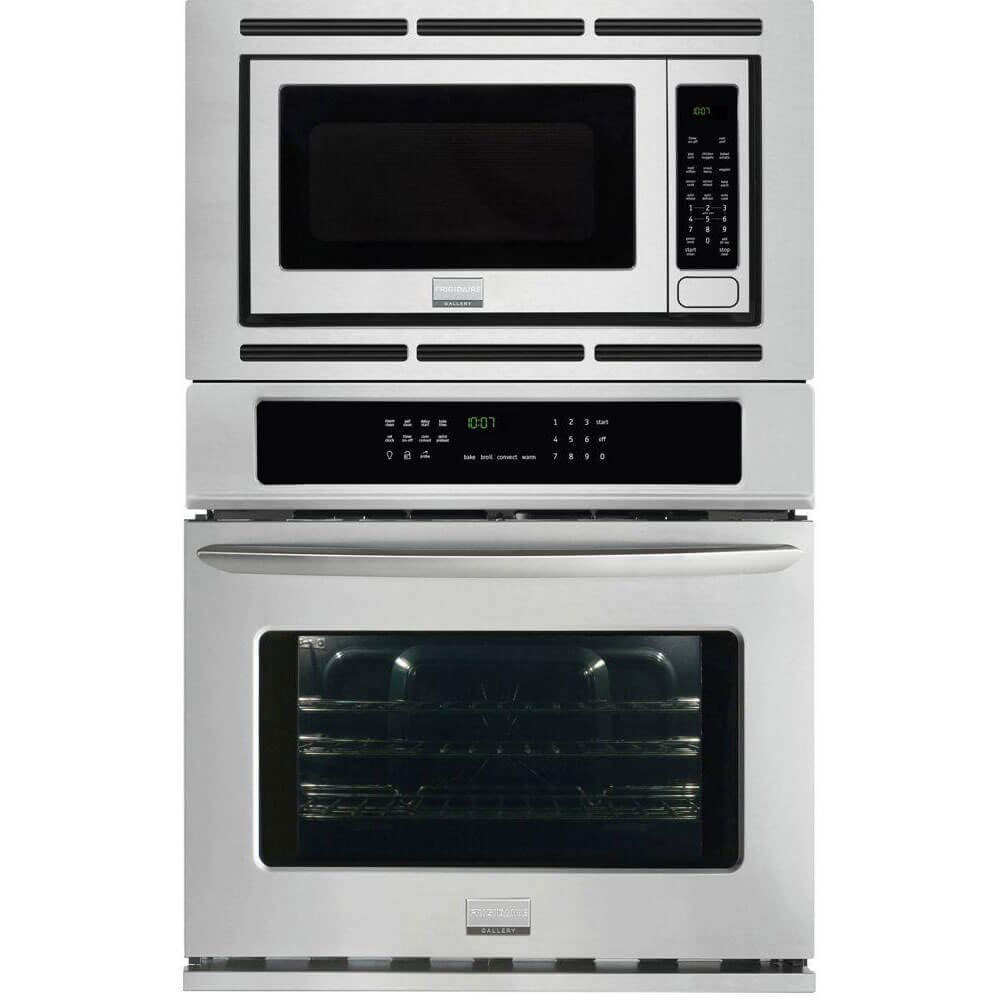 Frigidaire Gallery 27 Electric Wall Oven Microwave