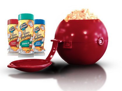 Popcorn Ball 2 0 For Mixing Poprcorn Cooking Gizmos