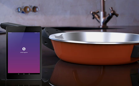 Smartypans Smart Pan With Sensors Cooking Gizmos