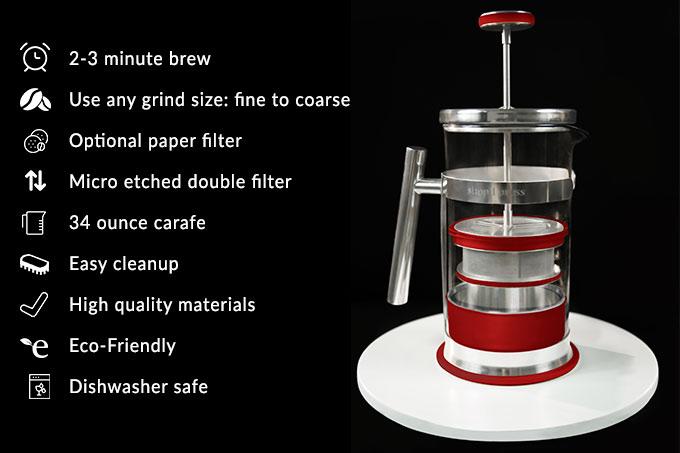 Simpli-Press-Coffee-Brewer