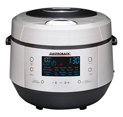 Gastroback Multicooker Steamer Fryer Slow Cooker