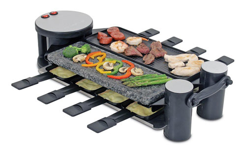Swissmar-KF-77073-8-Person-Raclette-Party-Grill