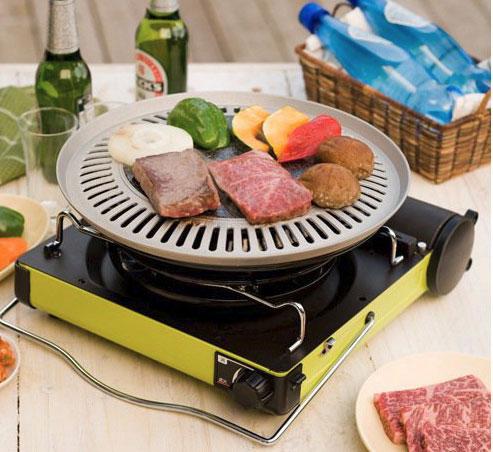 Iwatani Hot Plate Yakiniku Bbq Cooker Cooking Gizmos