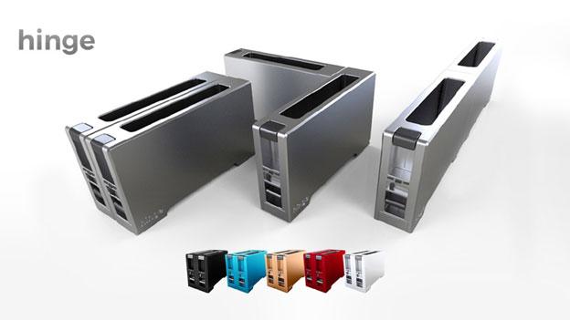 Hinge-Toaster