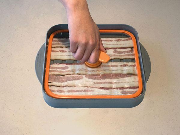 Baconboss Microwave Bacon Cooker Cooking Gizmos