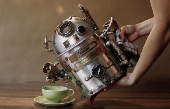R2d2 Steampunk Tea Pot Cooking Gizmos