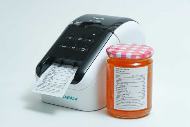 Nutrilabel Nutrition Software Amp Label Printer Cooking